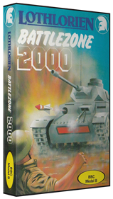 Battlezone 2000 - Box - 3D