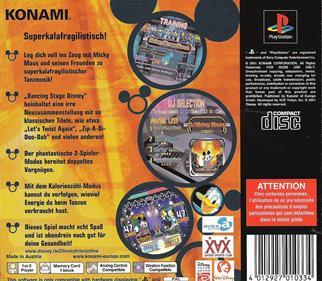 Dance Dance Revolution: Disney Mix - Box - Back