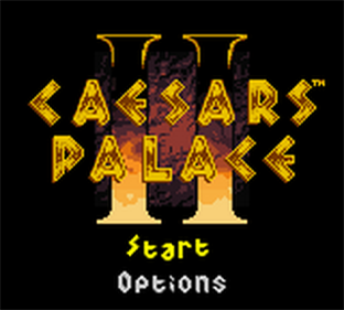Caesars Palace II - Screenshot - Game Title