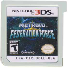 Metroid Prime: Federation Force - Cart - Front