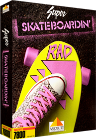 Super Skateboardin' - Box - 3D