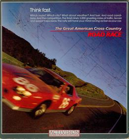 The Great American Cross-Country Road Race