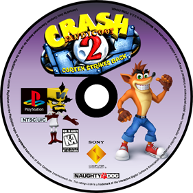Crash Bandicoot 2: Cortex Strikes Back - Fanart - Disc