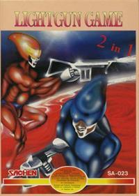 Lightgun Game 2 in 1: Cosmocop + Cyber Monster