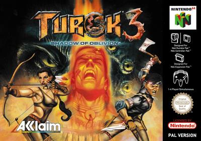 Turok 3: Shadow of Oblivion - Box - Front