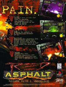 Red Asphalt - Advertisement Flyer - Front
