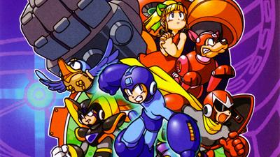 Mega Man 2: The Power Fighters - Fanart - Background