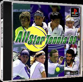 All Star Tennis 99 - Box - 3D