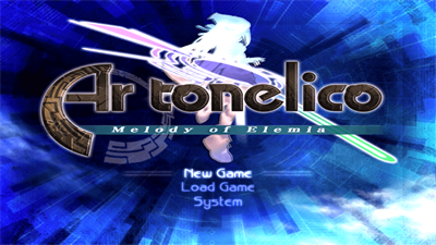 Ar tonelico: Melody of Elemia - Screenshot - Game Title
