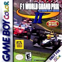 F1 World Grand Prix II for Game Boy Color