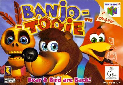 Banjo-Tooie - Box - Front