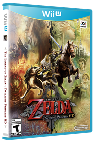 The Legend of Zelda: Twilight Princess HD - Box - 3D