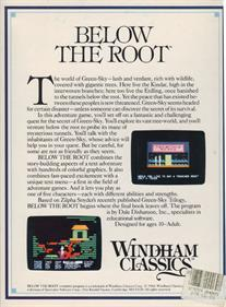 Below the Root - Box - Back