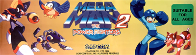 Mega Man 2: The Power Fighters - Arcade - Marquee