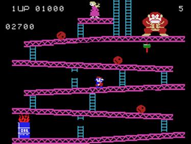 Donkey Kong - Screenshot - Gameplay