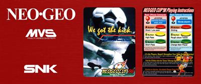 Neo Geo Cup '98: The Road to the Victory - Arcade - Marquee