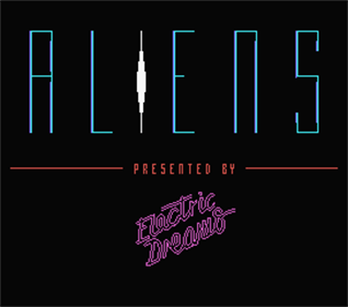 Aliens: The Computer Game - Screenshot - Game Title