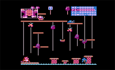 Donkey Kong Junior - Screenshot - Gameplay