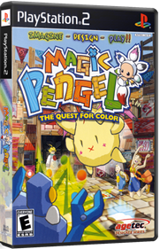Magic Pengel: The Quest for Color - Box - 3D