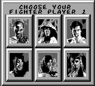 Mortal Kombat - Screenshot - Game Select