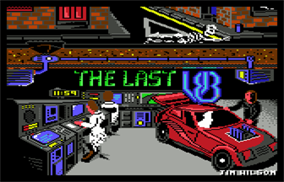 The Last V8 - Screenshot - Game Title