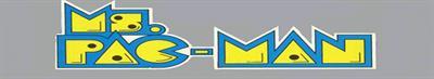 Ms. Pac-Man - Banner
