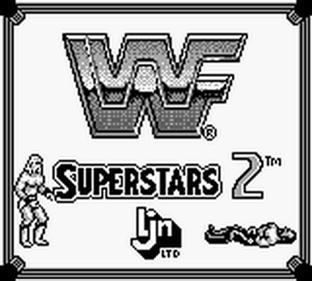 WWF Superstars 2 - Screenshot - Game Title