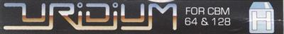 Uridium - Banner