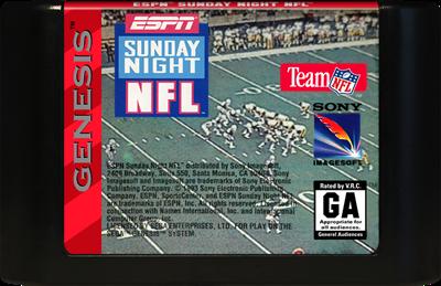 ESPN Sunday Night NFL - Cart - Front