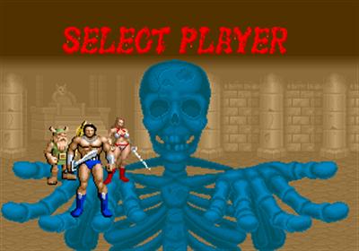 Golden Axe - Screenshot - Game Select
