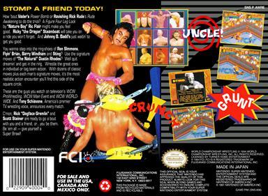 WCW SuperBrawl Wrestling - Box - Back