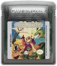 The Land Before Time - Fanart - Cart - Front