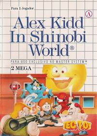 Alex Kidd in Shinobi World - Box - Front