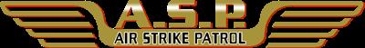 A.S.P.: Air Strike Patrol - Clear Logo