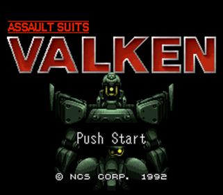 Cybernator - Screenshot - Game Title