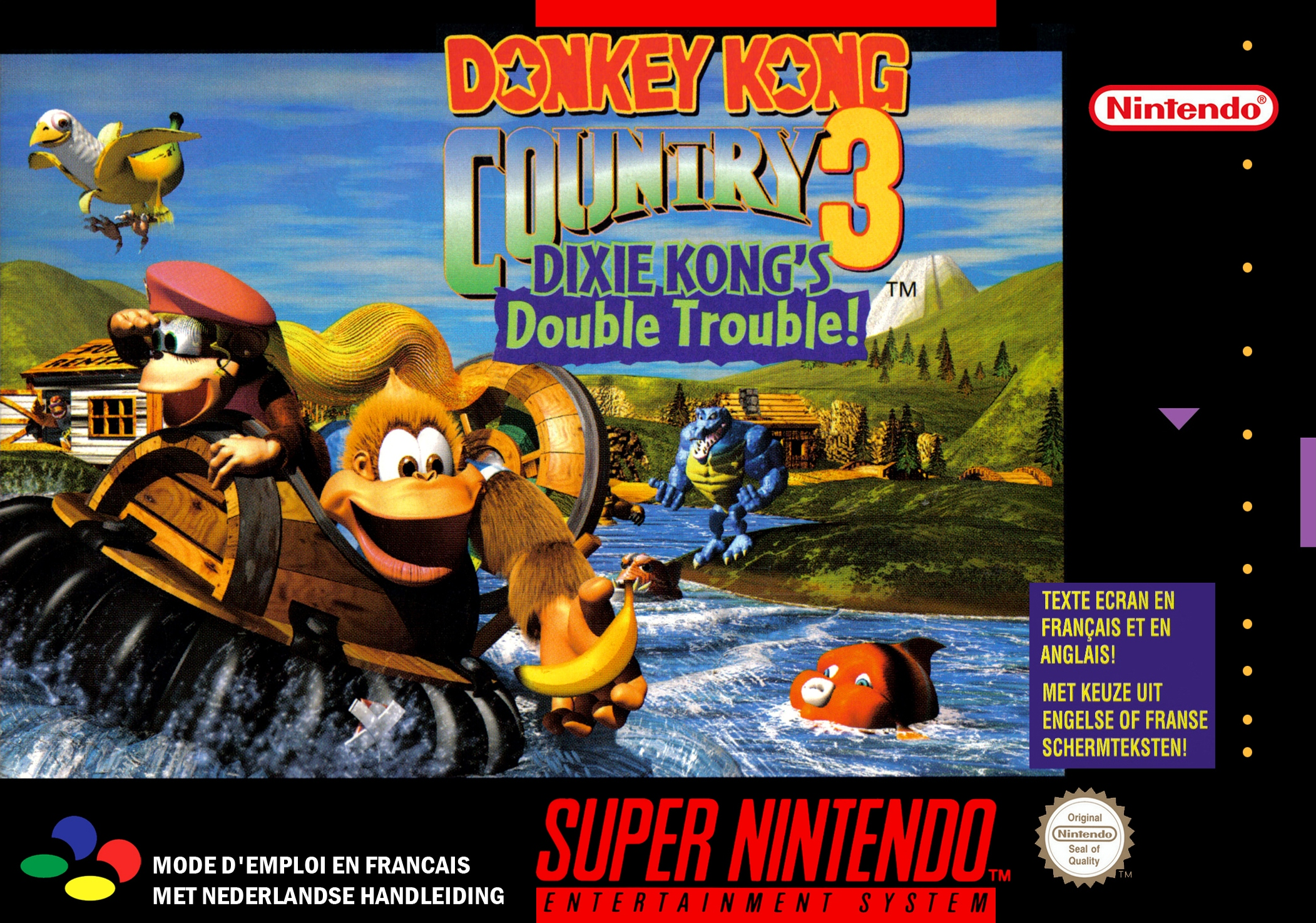 Donkey Kong Country 3 . Online Games . VitalityGames.com