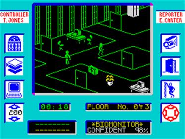 Max Headroom - Screenshot - Gameplay