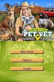 Paws & Claws: Pet Vet: Australian Adventures - Screenshot - Game Title