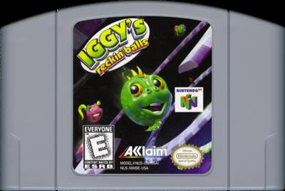 Iggy's Reckin' Balls - Cart - Front