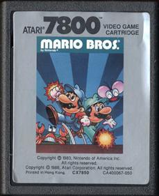 Mario Bros. - Cart - Front