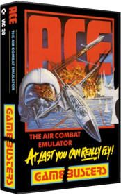 ACE: Air Combat Emulator - Box - 3D