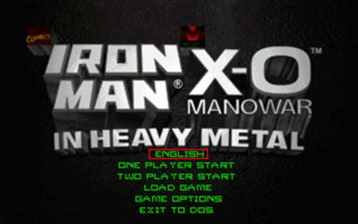 Iron Man / X-O Manowar in Heavy Metal - Screenshot - Game Title
