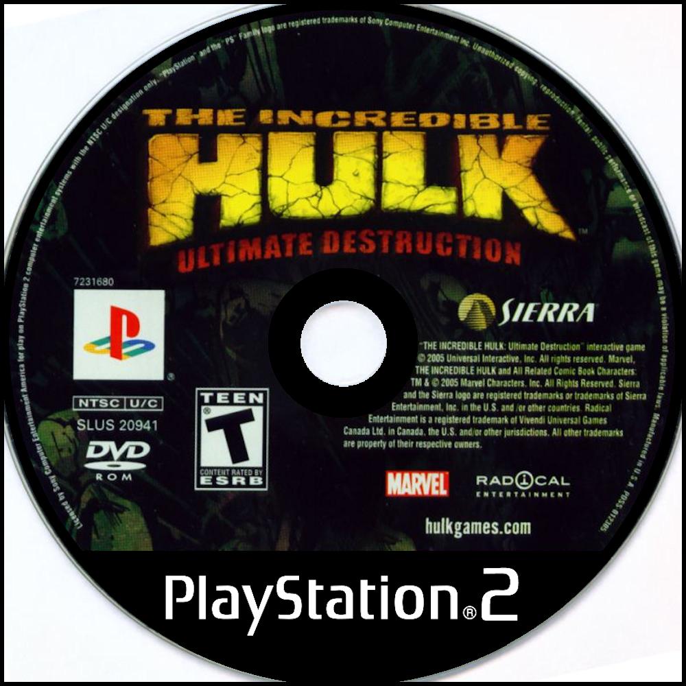 The Incredible Hulk: Ultimate Destruction Details