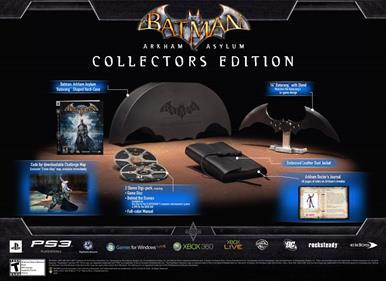 Batman: Arkham Asylum: Collector's Edition