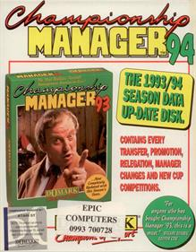 Championship Manager: End of 1994 Season Data Up-date Disk