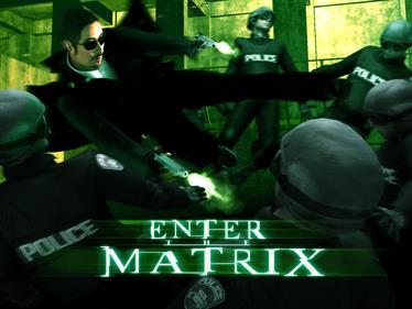 Enter the Matrix - Fanart - Background