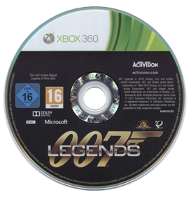 007 Legends - Disc