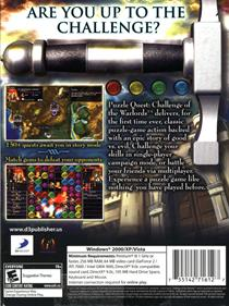 Puzzle Quest: Challenge of the Warlords - Box - Back