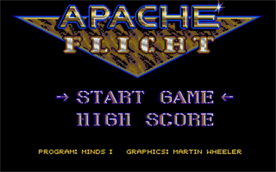 Apache Flight - Screenshot - Game Title