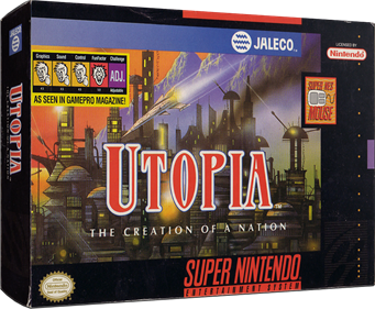 Utopia: The Creation of a Nation - Box - 3D